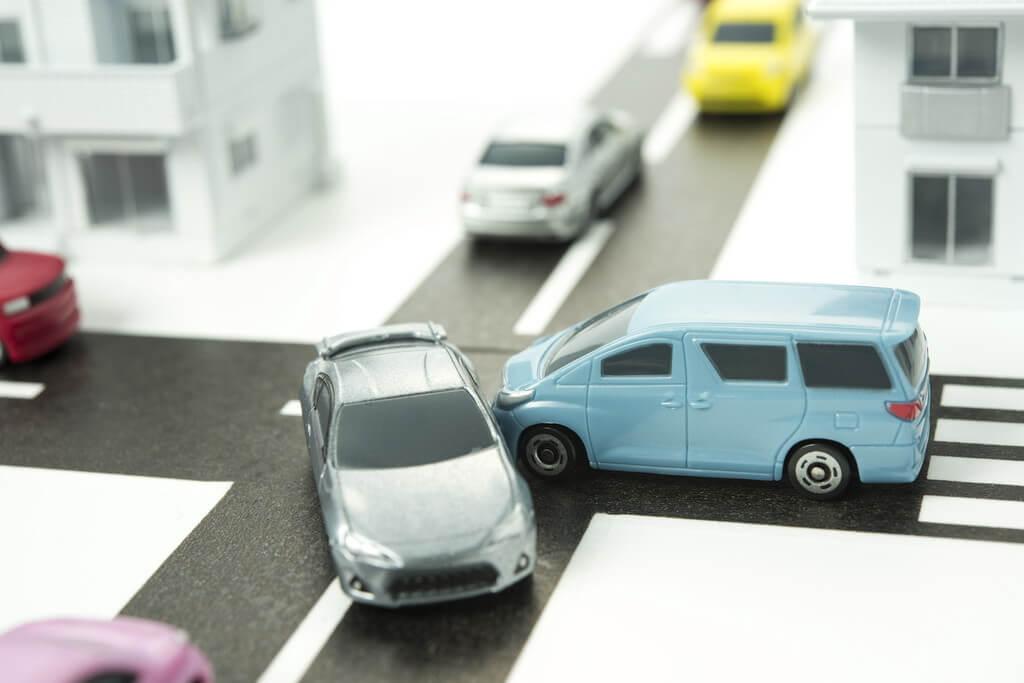 交通事故治療の様子